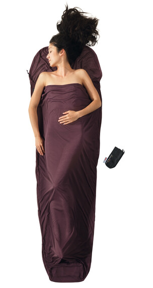 Cocoon MummyLiner inlet performer bruin/violet